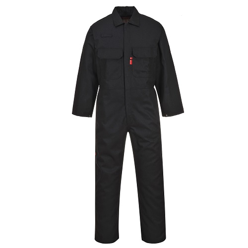 Portwest BIZ1 Bizweld FR Coverall Black Small