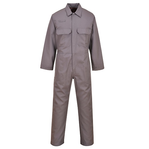 Portwest BIZ1 Bizweld FR Coverall Grey Large