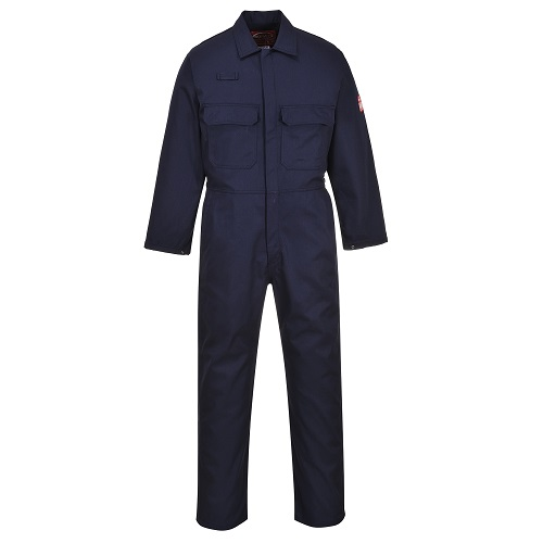 Portwest BIZ1 Bizweld FR Coverall Navy Small