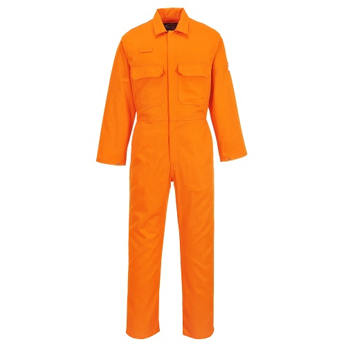 Portwest BIZ1 Bizweld FR Coverall Orange Small