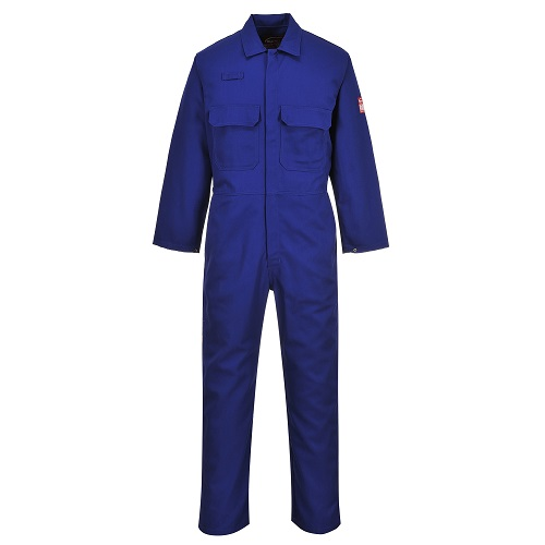 Portwest BIZ1 Bizweld FR Coverall Royal Small