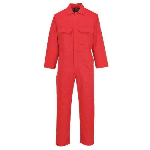 Portwest BIZ1 Bizweld FR Coverall Red Small