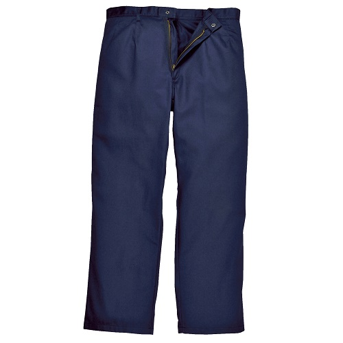 Portwest BZ30 Bizweld Trousers Navy X Small