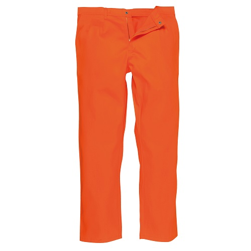 Portwest BZ30 Bizweld Trousers Orange Small