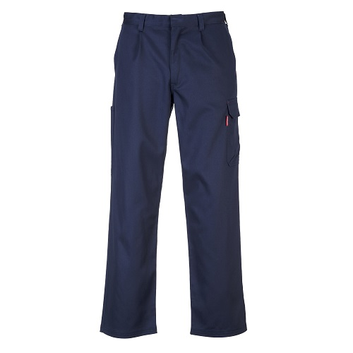Portwest BZ31 Bizweld FR CargoPants Navy Large