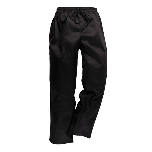 Portwest C070 Drawstring Trousers Black XX Small