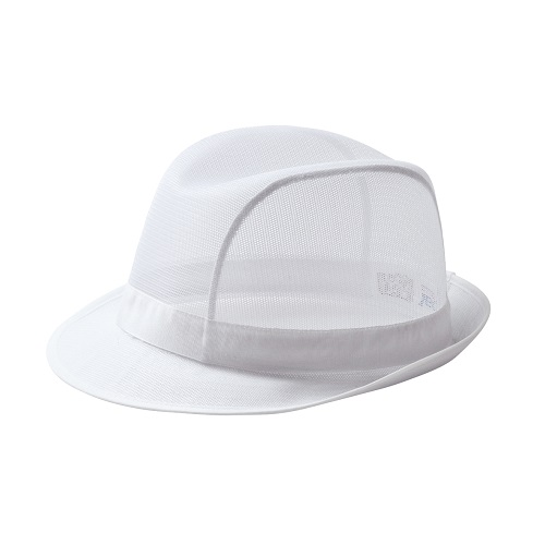 Trilby Hat C600 White Small