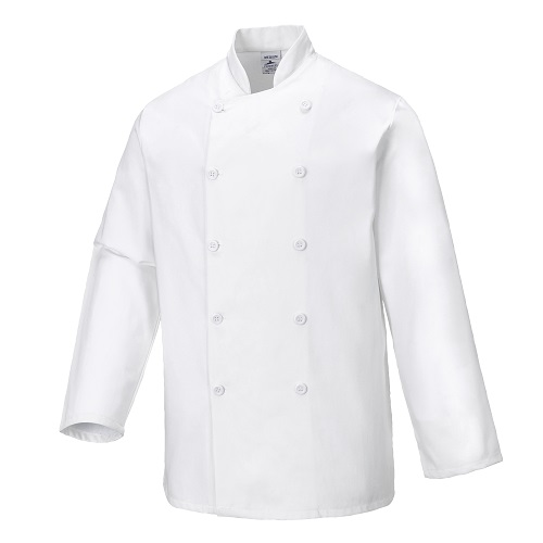 Sussex Chefs Jacket C836 White X Small