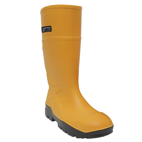 Portwest FD95 PU Safety Wellington S5 CI FO Yellow Size 7