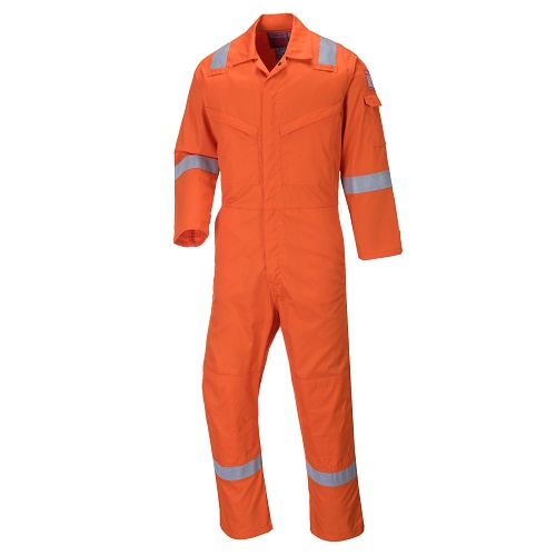 Portwest FF50 Aberdeen FR Coverall Orange 36""
