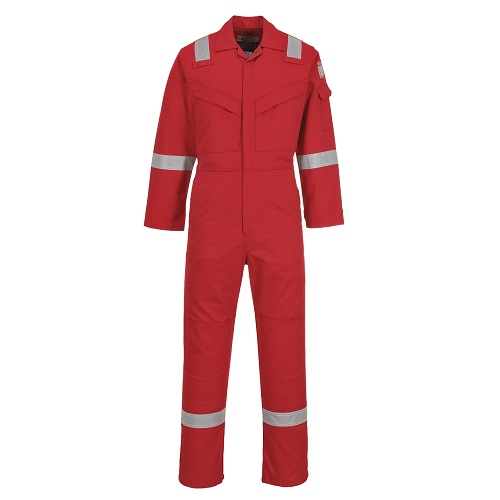 Portwest FF50 Aberdeen FR Coverall Red 42""