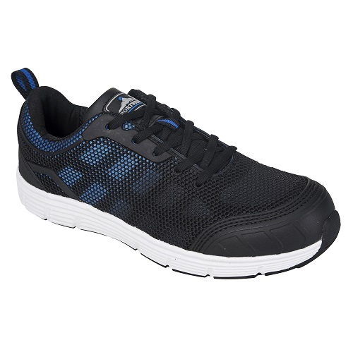 FT15 Steelite Tove Trainer S1P Black / Blue Size 5