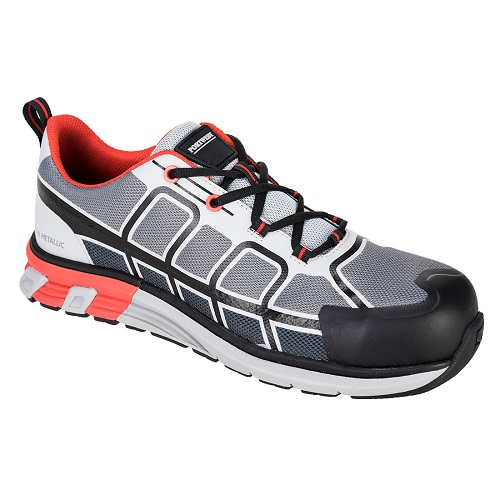 Portwest FT17  OlymFlex Barcelona SBP AE Trainer Grey/Black Size 8