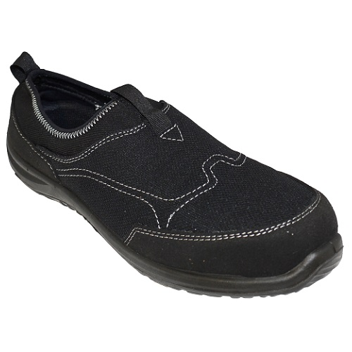 Portwest FT54 Steelite Tegid Slip On Trainer S1P Black Size 2.5