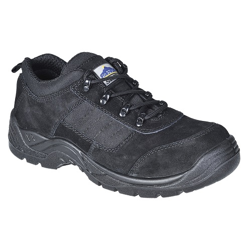 Portwest FT64 Steelite Trouper Shoe S1P Black Size 3