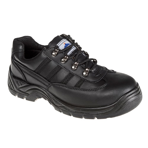 Portwest FW25 Steelite Safety Trainer S1P Black Size 6