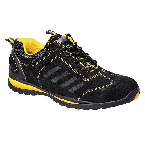 FW34 Steelite Lusum Safety Trainer S1P HRO Black / Yellow Size 3