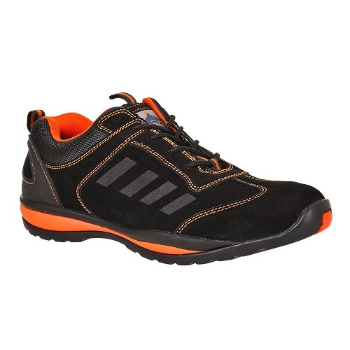 FW34 Steelite Lusum Safety Trainer S1P HRO Black / Orange Size 5