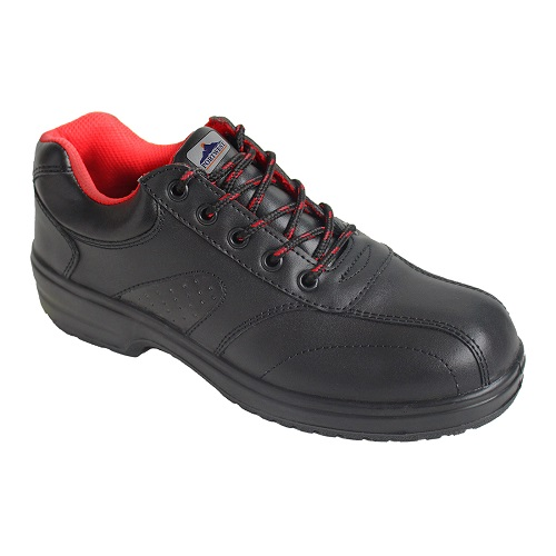 Portwest FW41 Steelite Ladies Safety Shoe S1 Black Size 3