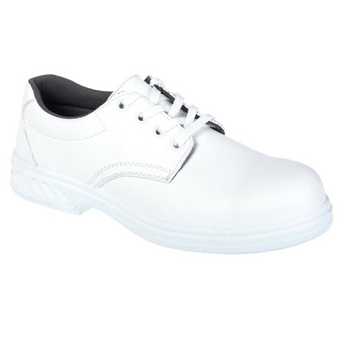 FW80 Steelite Laced Safety Shoe S2 White Size 2