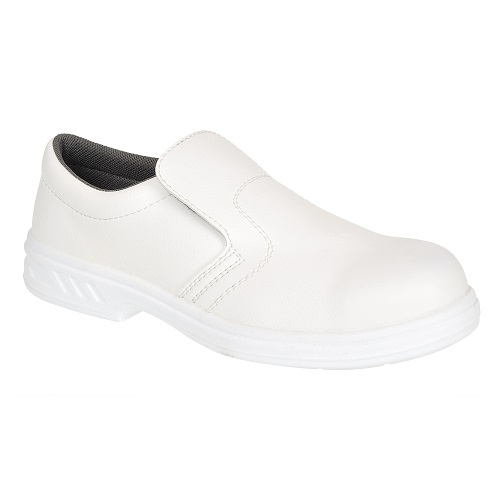 FW81 Steelite Slip On Safety Shoe S2 White Size 1