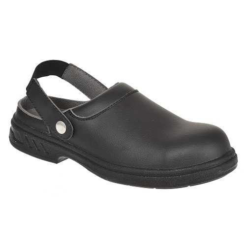 FW82 Steelite Safety Clog SB AE WRU Black Size 3