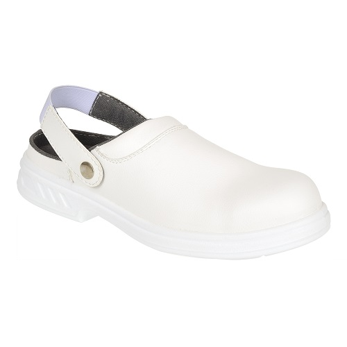 FW82 Steelite Safety Clog SB AE WRU White Size 1
