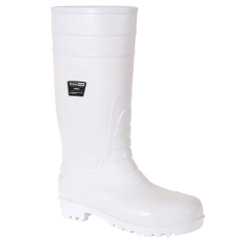 Portwest FW84 Safety Food Wellington S4 White Size 3