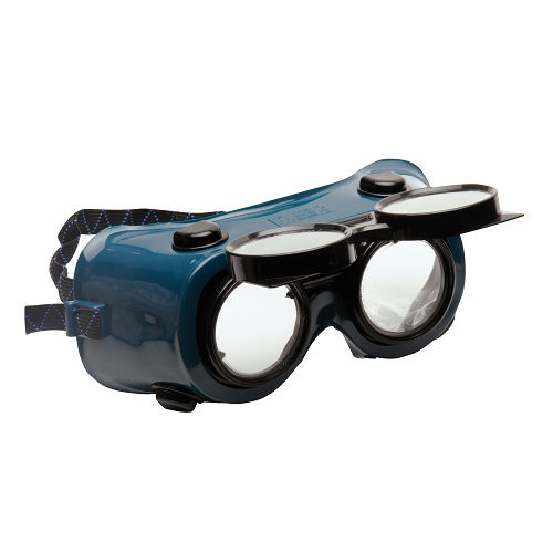 Gas Welding Goggle Bottle Green Clear Flip Up Lens
