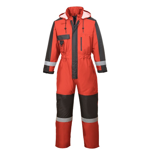 Winter Coverall S585 Red / Black Large