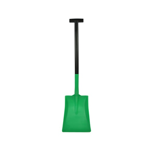 Safety T Grip Standard Shovel Green