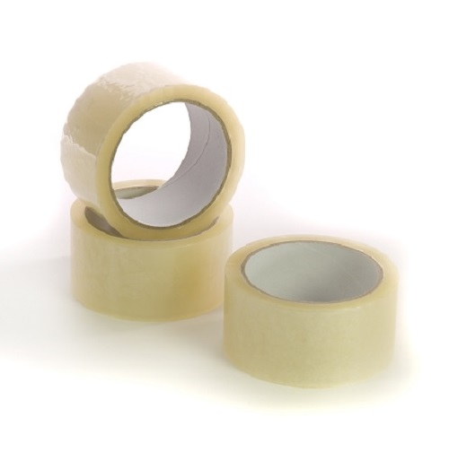 Clear Polypropylene Carton Tape 50mm x 66m Single Roll