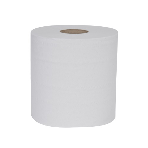 Geordie 2 Ply Centre Feed Rolls White 220 mm x 180 m 6's (Until stocks depleted - to be replaced with S3 AF114)