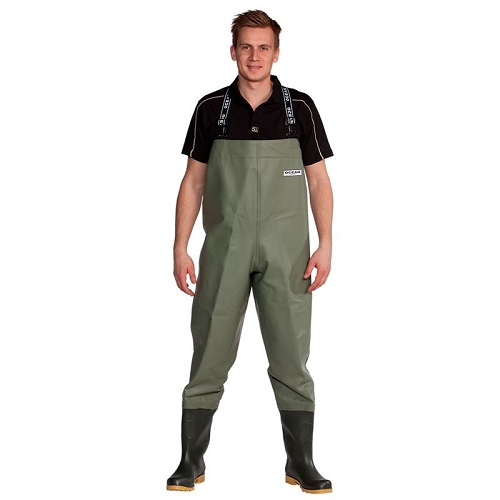 Ocean Classic Waders Wide Model Olive Size 14