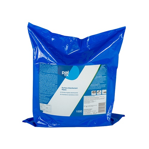 Pal TX Surface Disinfectant Wipes - Refill Pack 3 x 1000's