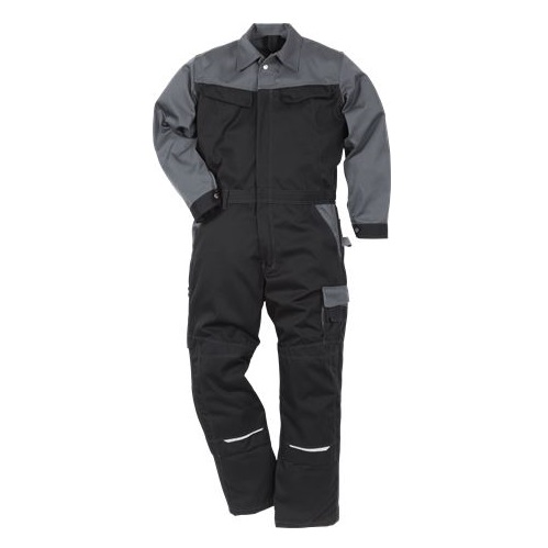 Icon Coverall 8612 Luxe Black / Grey XL (Available until stocks depleted)