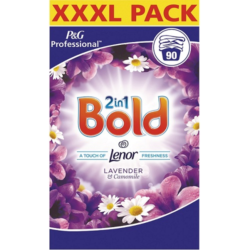 Bold 2 in 1 Lavender and Chamomile Powder 85 Wash 5.52 kg (Until stocks depleted - to be replaced with P5 75103)
