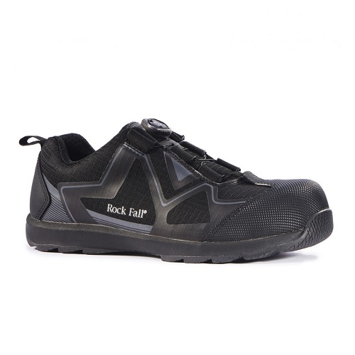 Rockfall Volta Electrical Trainers Black Size 6
