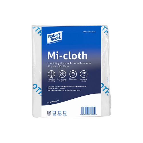 Mi-Cloth Microfibre Blue 50 sheets 38 x 32 cm