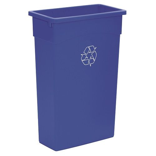 Wall Hugger Recycle Bin Blue 90 litre (Base only)