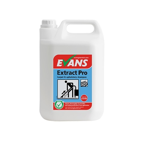 Evans Extract Pro Carpet and Upholstery Shampoo 5 litres