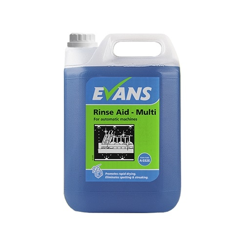 Evans Rinse Aid Multi For Automatic Machines 2 x 5 litres