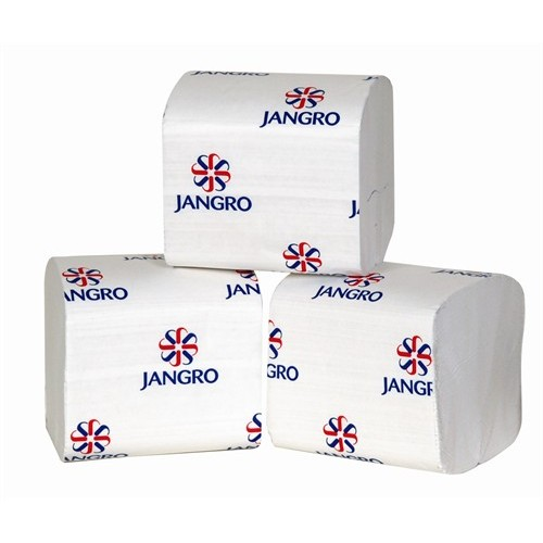 Jangro PH Bulk Pack Toilet Tissue White 1 Ply 36 x 500 Sheets