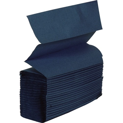 Jangro Z Fold Hand Towels Blue 1 Ply 4500's