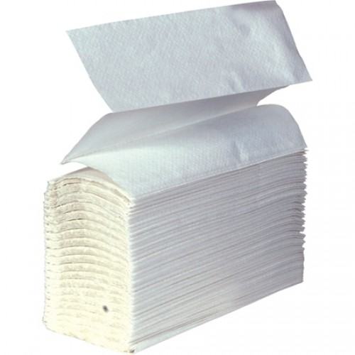 Jangro Z Fold Hand Towels White 1 Ply 3000's