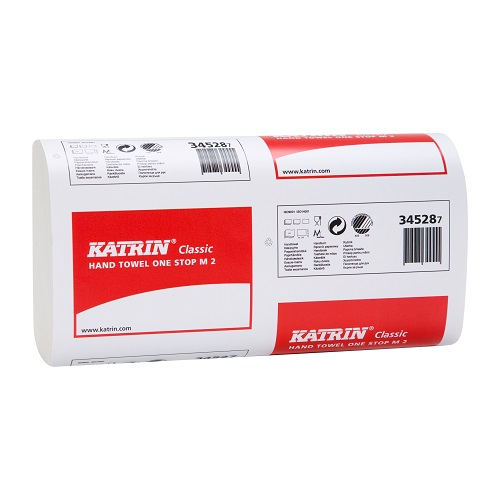 Katrin Classic M2 Hand Towels One Stop White 3360's