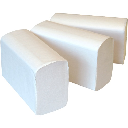 Economy C Fold Hand Towels White 2 Ply 2400's