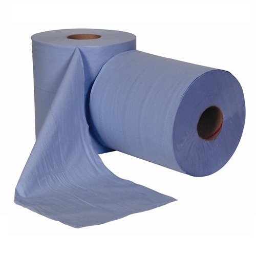 Centre Feed Rolls Blue 1 Ply 6 Rolls x 300m