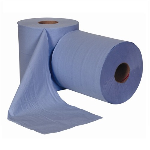 Centre Feed Rolls Blue 2 Ply 6 Rolls x 150m
