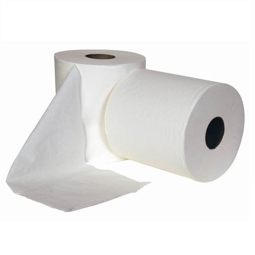 Centre Feed Rolls White 2 Ply 6 Rolls x 150m